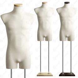 Manekin wystawowy bieliźniany męski 48-50 ECRU B-1