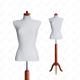 Manekin wystawowy damski krótki 36-38 SZARY S-1