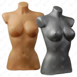 Manekin wystawowy tors plastikowy damski krótki 36-38 miska C