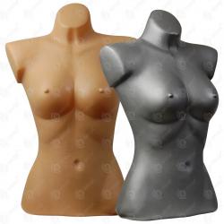 Manekin wystawowy tors plastikowy damski krótki 36-38 miska D