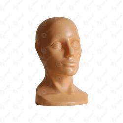 Głowa ekspozycyjna plastikowa uniwersalna wolnostojąca CIELISTA (v2)