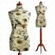 Manekin krawiecki damski dekoracyjny 34 S-1 (K004)