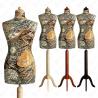 Manekin krawiecki damski dekoracyjny 36-38 S-1 (K006)