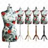 Manekin krawiecki damski dekoracyjny 36-38 S-4 (K010)