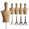 Manekin wystawowy męski krótki z głową 48-50 BEŻ S-4