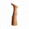 Noga ekspozycyjna plastikowa dziecięca krótka wolnostojąca CIELISTA